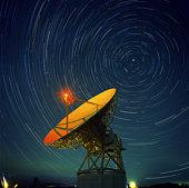 SPAIN, MADRID, RADIO TELESCOPE
